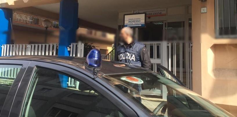 """Avellino, blitz della polizia negli uffici dell'Asl: sospesi 21 """"furbetti del cartellino"""""""