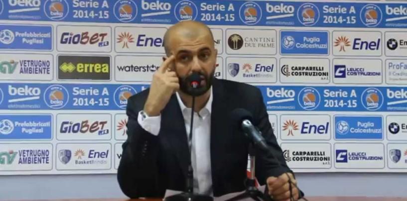 """Basket, Buscaglia mette in guardia i suoi: """"Avellino squadra di talento, servirà una partita gagliarda"""""""