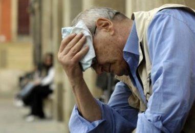 """Allarme caldo dalla Prefettura, previsto un week end """"di fuoco"""" in tutta la Campania"""