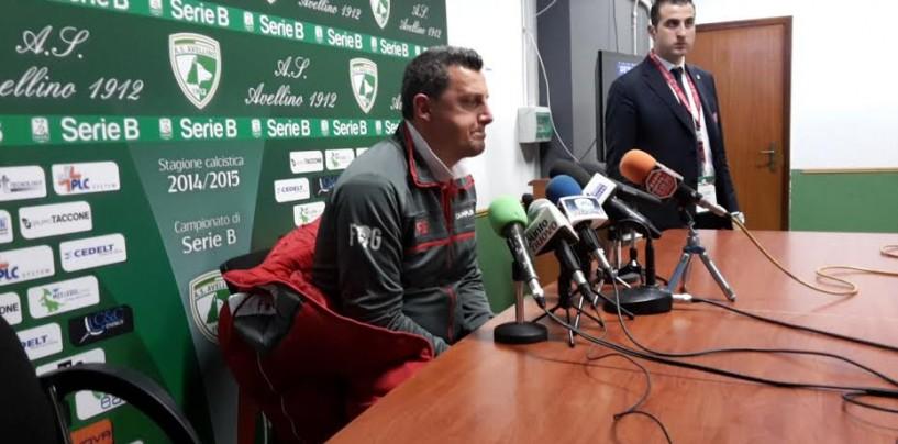"""SALA STAMPA/ Camplone è euforico: """"Bravi a crederci fino alla fine"""""""