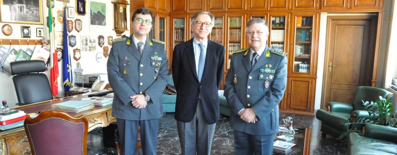 Fiamme Gialle, il generale Piccinni in visita ad Avellino