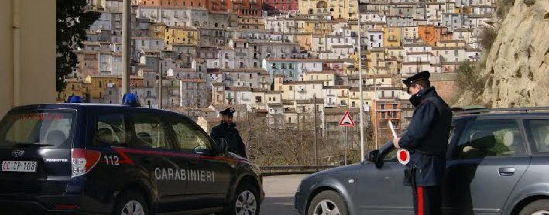 Alta Irpinia, Carabinieri allontanano 10 persone