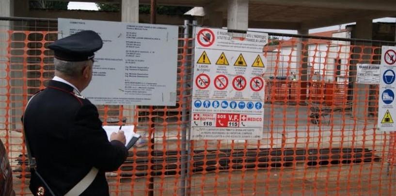 Reati edilizi, denunce per 27 persone dopo blitz a Candida