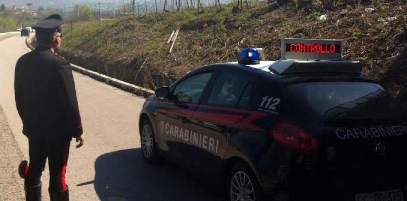 Venticano – Asportano la recinzione che costeggia l'autostrada: nei guai due pregiudicati