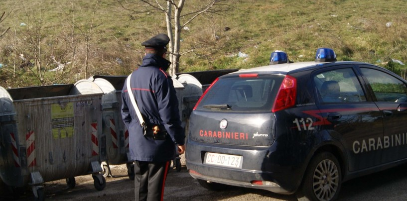 Trasporto illecito di rifiuti a Summonte: denunciato 50enne