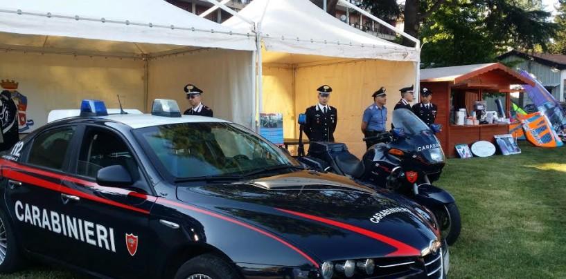 Avellino – L'arma dei Carabinieri prende parte alla 14a edizione di Sportdays con uno stand espositivo.
