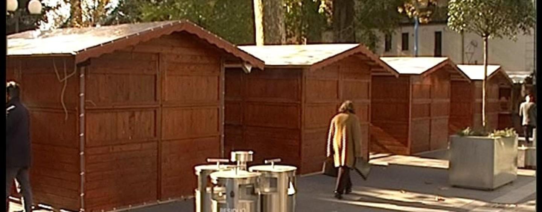 Natale ad Avellino, casette in legno gratuite in periferia
