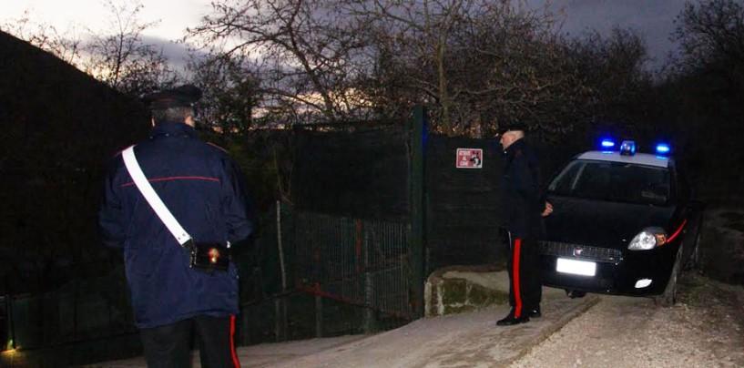 Controlli a tappeto dei Carabinieri nel Vallo Lauro, sequestrate armi e denunciate 8 persone