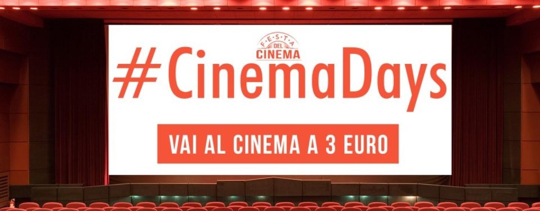 Cinema Days 2016: sale a tre euro anche ad Avellino, ecco dove