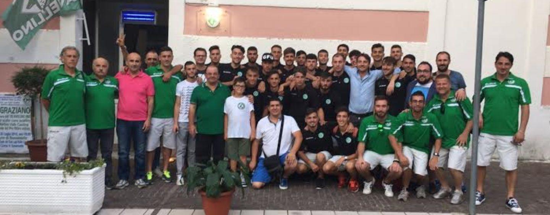 FOTO/ Avellino Calcio – La Primavera di Cioffi in visita al Club Lupi Valle Caudina