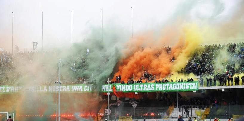 Avellino Calcio – Derby, coreografia amara: arriva l'ammenda del giudice sportivo
