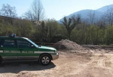 Prevenzione danneggiamento ambientale, i Forestali sequestrano un mezzo da motocross
