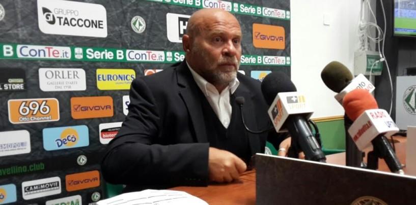 """SALA STAMPA/ Cosmi non si accontenta: """"Due punti persi ad Avellino"""""""