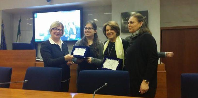 Arec Campania, Rosetta D'Amelio premia 12 studenti