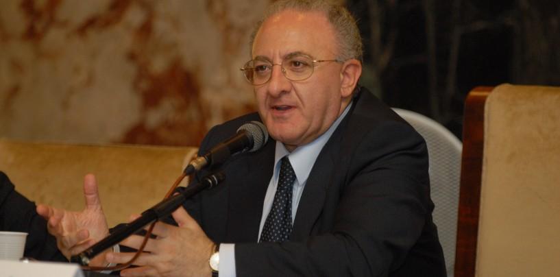 Primarie PD, trionfa Vincenzo De Luca