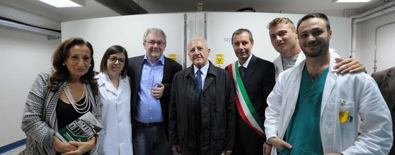 Il Presidente De Luca in visita al Crom di Mercogliano