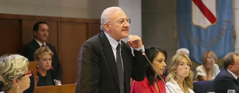 """De Luca nomina Morgante all'Asl di Avellino e Percopo al Moscati. Caldoro: """"Pagato il tradimento di De Mita"""""""