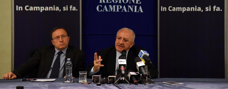 """Universiadi in Campania, De Luca: """"Investimento di 200 milioni"""""""
