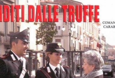 Ancora truffe in Irpinia, raggirata 90enne di Castelvetere sul Calore da un sedicente corriere