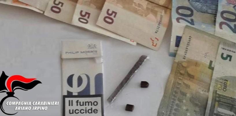 Spacciava a ragazzini in villa a Grottaminarda, arrestato albanese