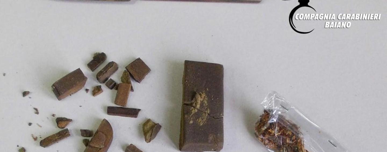 Custodiva a casa 50 grammi di hashish, denunciato pregiudicato del Mandamento