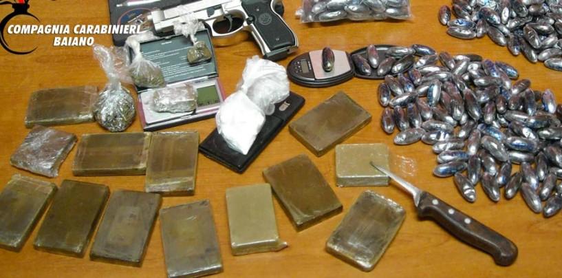 Scoperto deposito di droga in una abitazione del Mandamento, scatta l'arresto