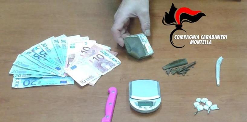 Droga nelle scuole di Montella, arrestato spacciatore e sequestrato fumo e erba a 5 studenti
