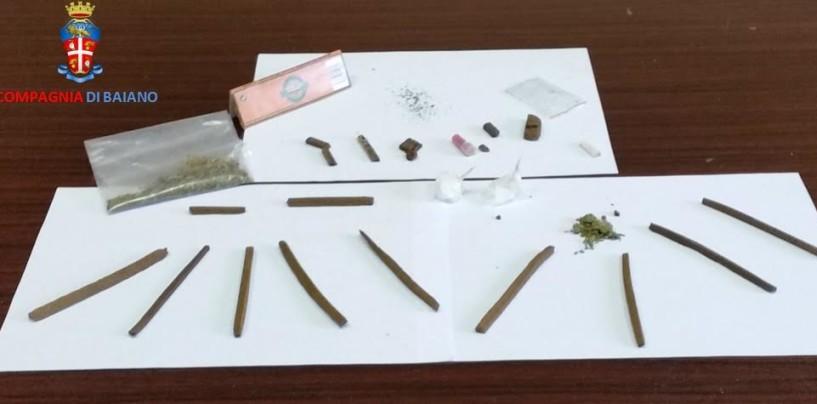 Baiano –  30enne denunciato per spaccio di stupefacenti