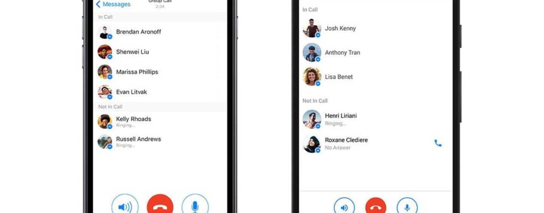 Novità su Facebook Messenger: sono arrivate le chiamate di gruppo
