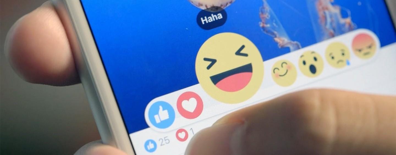 """Facebook, non più semplici like… ecco le """"reazioni"""""""