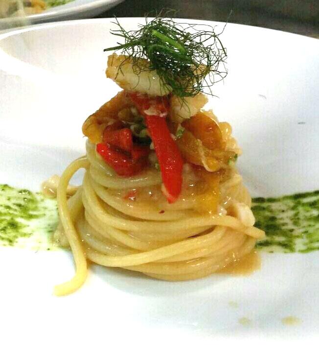 Fantasie dello chef in tavola da Minù
