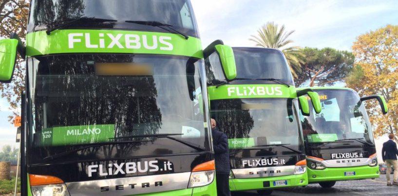 FlixBus: nuove tratte da Avellino e Grottaminarda e più corse per Roma