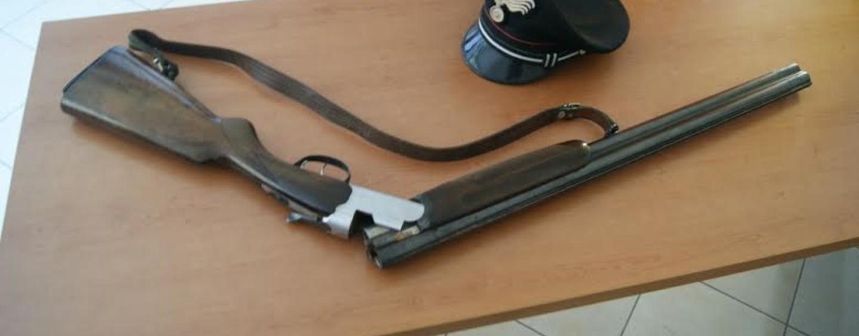 Detiene illegalmente un fucile: nei guai 35enne