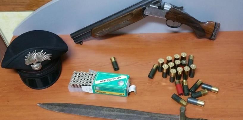Serino – 70enne minaccia la compagna con fucile a canne mozze, arrestato