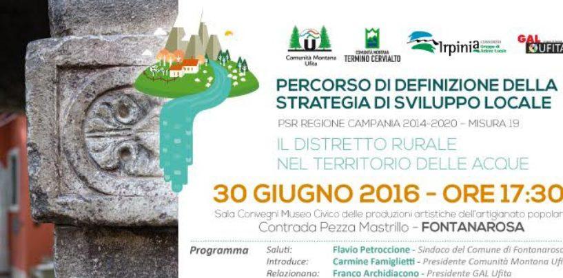 A Fontanarosa il quarto incontro sul Percorso di definizione della Strategia di Sviluppo Locale