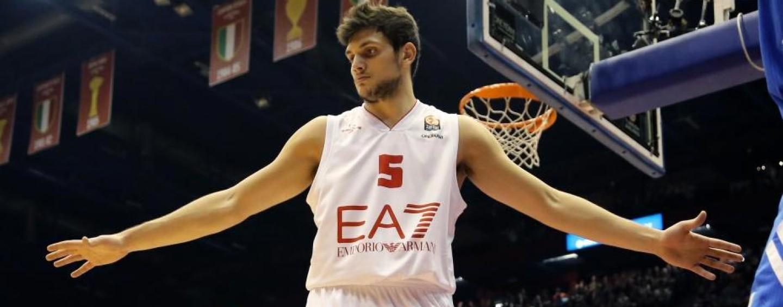 Basket, clamoroso a Milano: Alessandro Gentile lascia l'Olimpia