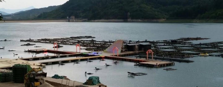 Barili arrugginiti e contratto di Lago: Il Grande Spettacolo dell'Acqua non si farà