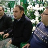 FOTO e VIDEO/ Avellino Calcio – Un dolce Natale per i tifosi: Di Iorio presenta i suo prodotti allo Store