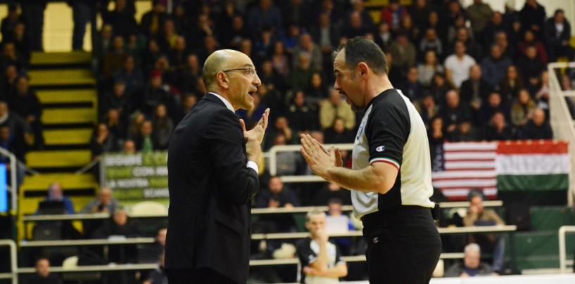 """FOTO/ Basket Avellino, Vitucci: """"Giocato a testa alta fino alla fine"""""""