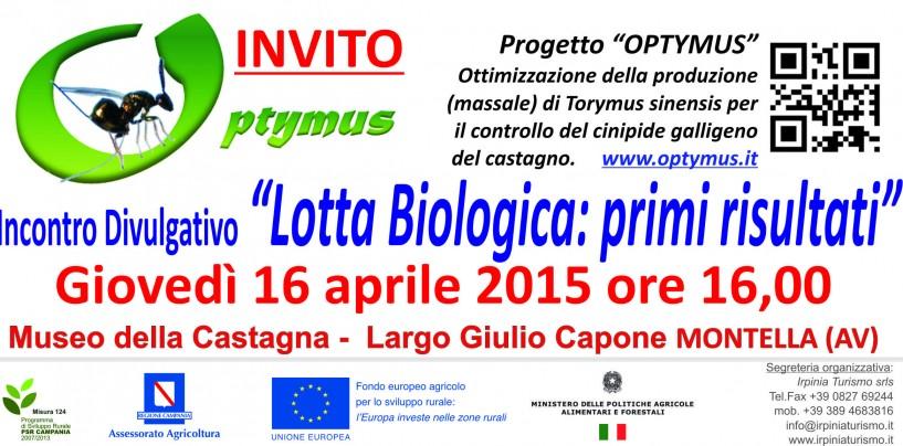 """Montella, progetto """"Optymus"""" incontro divulgativo """"Lotta biologica"""": i primi risultati"""