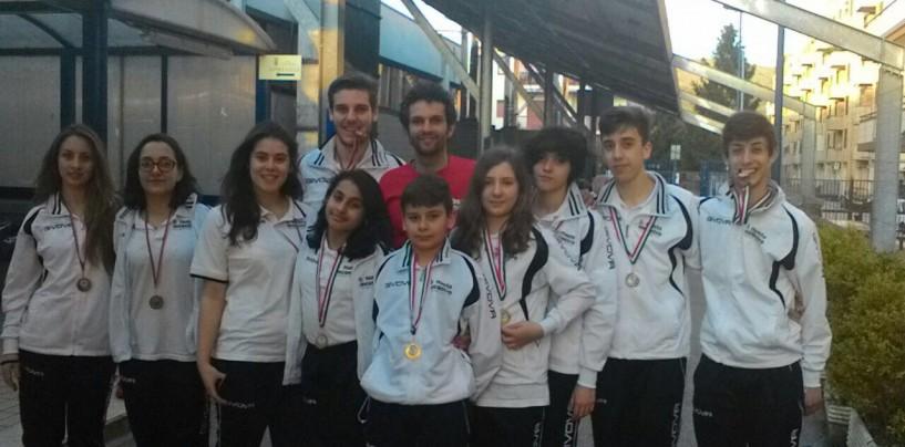 Campionato Regionale di Nuoto: SSd Ariano espugna Caserta nella tappa finale