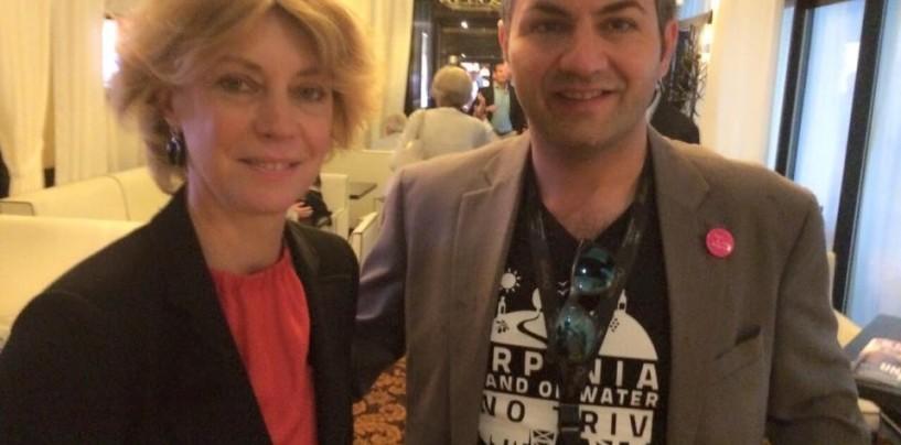 No triv Irpinia al Festival di Cannes. Krineide promuove la causa contro il petrolio