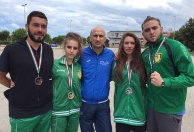 Asd Teakwondo Avellino – Oro, un argento e due bronzi: tutti a medaglia gli allievi di Iuliano