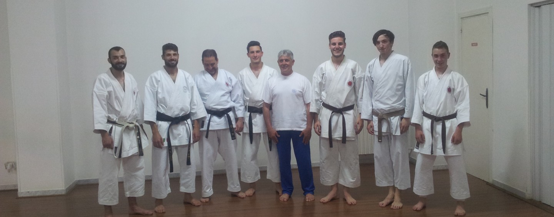 Tre cinture nere alla Palestra Karate Dojo di Grottaminarda