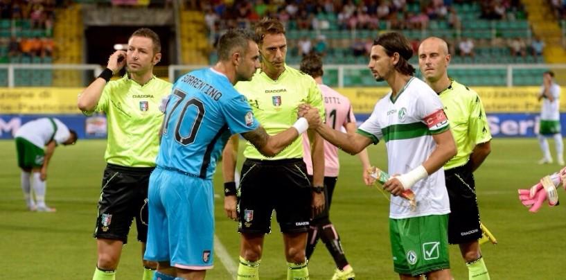 Trotta non basta all'Avellino: la qualificazione è rosanero. Rivivi il live dal Barbera