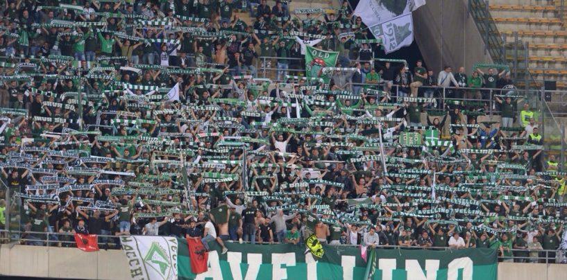 Avellino Calcio – Il tifo si mobilita: obiettivo mille a Bari
