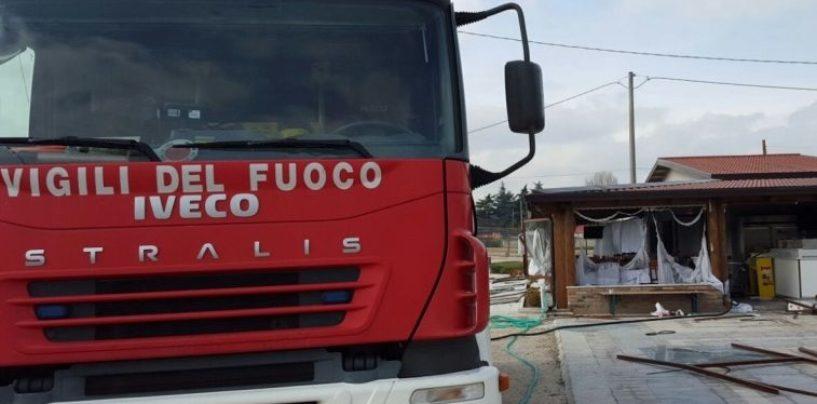 Santa Croce del Sannio, scontro tra auto e camion: grave una persona