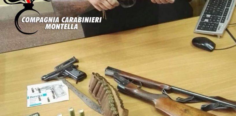 Sequestro di armi e munizioni, nei guai un pensionato di San Mango
