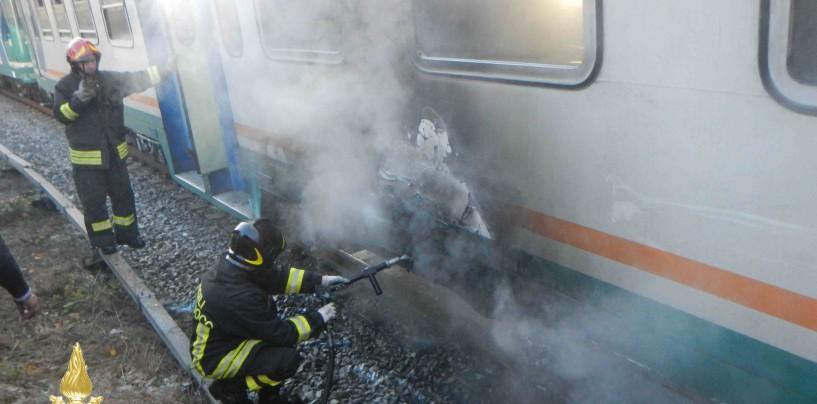 Fumo denso su un treno in direzione Benevento: paura per 7 passeggeri