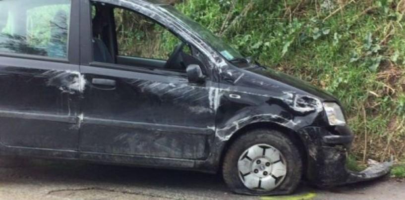 Incidente stradale ad Ariano, giovane salvato dai carabinieri
